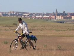 Pedalea 3. Exposición Bici 2007. Título: Camino de los Arapiles. Guardabarros.org