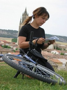 Pedalea 3. Exposición Bici 2007. Título: Descanso. Guardabarros.org