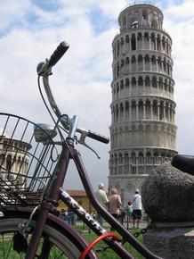 Pedalea 3. Exposición Bici 2007. Título: Pisa II. Guardabarros.org