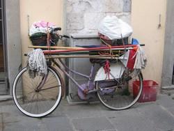 Pedalea 3. Exposición Bici 2007. Título: Pisa III. Guardabarros.org