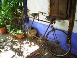 Pedalea 3. Exposición Bici 2007. Título: Tandem Sobre Azul. Guardabarros.org