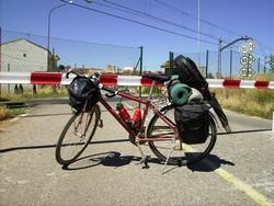Pedalea 3. Exposición Bici 2007. Título: Bici Tren. Guardabarros.org