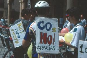 Guardabarros. Comité de bici Urbana Salamanca.