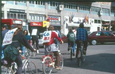 Guardabarros. Comité de bici urbana. Salamanca